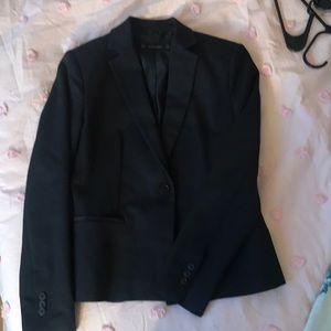 Zara Basics Blazer Suit Jacket, Black Size Small